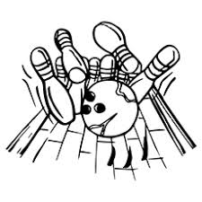 bowling ball coloring page 10 amazing bowling coloring pages for your toddler