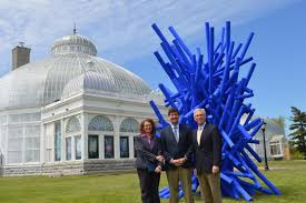 Erie Botanical Gardens 5 22 15 New Installation Adds To Beautiful Blooms At