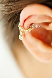cartilage cuff earrings water drop cubic ear cuff earcuff earring earcuff ear cuff
