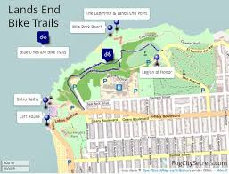 san francisco land use map lands end san francisco