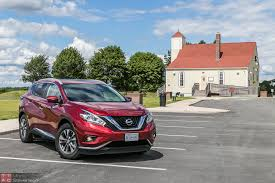 nissan murano red 2015 nissan murano sl awd review u2013 suave ugly duckling