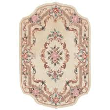 Area Rugs Home Decorators Home Decorators Collection Imperial Ivory 4 Ft X 6 Ft Shape Area