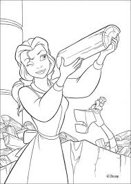 belle chops wood coloring pages hellokids