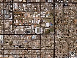 Uofa Map Svs Great Zoom Into Tucson Az The University Of Arizona