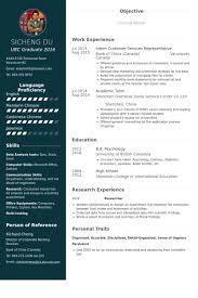 customer services representative resume samples visualcv resume