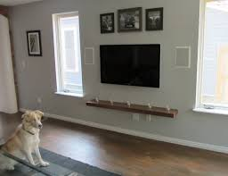 Wall Mounted Tv Cabinet Design Ideas 1000 Ideas About Wall Mounted Tv On Pinterest Tvs Mount Tv And