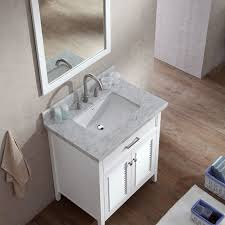 Kensington 60 Vanity Ace Kensington 31 Inch Single Sink Bathroom Vanity Set In White Finish