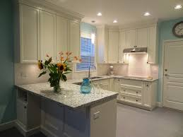 Sky Kitchen Cabinets Dazzling Contemporary Kitchen With Blue Sky Granite Table Top