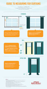 Easy Way To Hang Curtains Decorating Guide To Measuring For Curtains My Home Curtains Pinterest