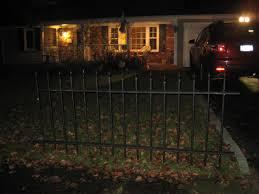 static pvc graveyard fence