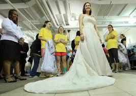 bargain wedding dresses kristin caufield in bargain wedding dresses inspire running of