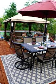 Best Outdoor Rug For Deck Top 25 Best Outdoor Deck Decorating Ideas On Pinterest Deck