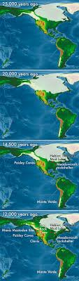 map of america 20000 years ago fieldwork revises free corridor hypothesis of human migration