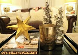 Metal Star Home Decor Decorations Metal Accent Coffee Table Christmas Centerpiece