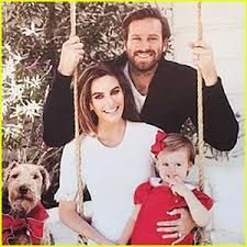 armie hammer u0027s 2016 christmas card is too adorable 2016