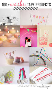 Washi Tape Home Decor 100 Washi Tapes Project Ideas And Where To Buy Washi Tape