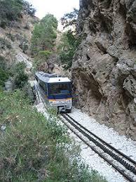 treno cremagliera ferrovia diakopto kalavryta