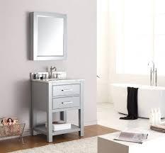 vanities grey shaker style bath vanity with carrara marble