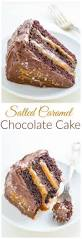 salted caramel chocolate cake recipe chocolate frosting