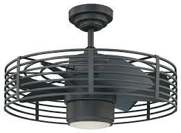 industrial ceiling fan light kit enclave 23 natural iron ceiling fan industrial ceiling fans with