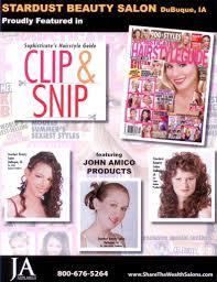 clip snip hair styles stardust beauty salon dubuque s premier award winning hair salon
