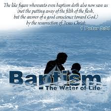 baptism saves biblical proof