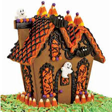 ghostly guest gingerbread house wilton