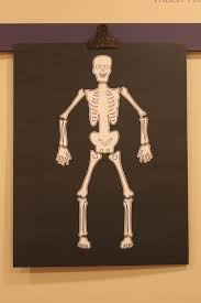 halloween skeleton template keeping up with the kiddos kindergarten halloween party