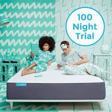 buy simba hybrid memory foam pocket spring mattress medium