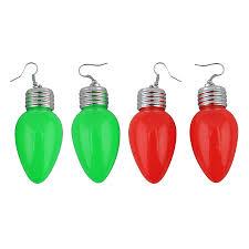 light up christmas earrings shop magic seasons lighted christmas earrings at lowes com