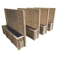 trellis christchurch quality nz made wooden planters breswa outdoor furniture