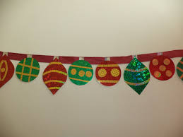 sparkling paper ornaments banner allfreechristmascrafts