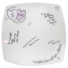 wedding anniversary plates signature plates florasgiftsandfashion