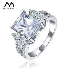 aliexpress buy new arrival white gold color aaa mdean white gold color vintage rings for women aaa zircon jewelry