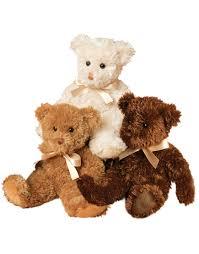 teddy bears chocolate fuzzy teddy douglas cuddle toys