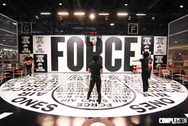 nike air force 1 booth complexcon complex
