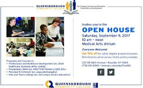 Open House Invitation Continuing Education Qcc Open House Invitation Greater