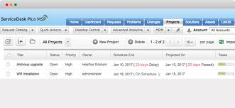 help desk project management it project management tool for msps