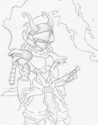 cyborg samurai sketch by shad0w210 on deviantart