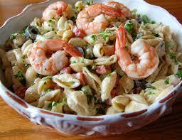 shrimp pasta salad cooking mamas