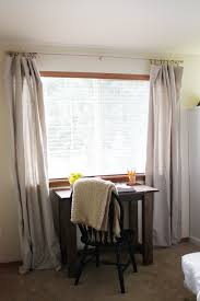 Drapes Home Depot Beingbrook Drop Cloth Curtains Tutorial