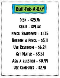 rent for a day rent for a day a decimal addition subtration by forsuchtime
