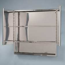 dawson stainless steel double door medicine cabinet bathroom
