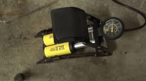 Zefal Bike Pump Instructions by 200 Psi Foot Pump Presta U0026 Schrader Valve From Topbox On Amazon