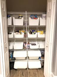 kitchen pantry organizers ikea ikea pantry organization idea i used the pluggis bins on