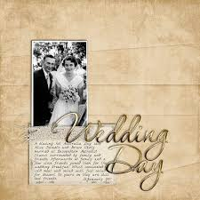 Wedding Scrapbook Page Wedding Scrapbook Page Ideas Best Images Collections Hd For