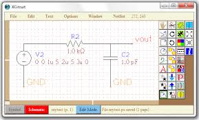 ngspice circuit simulator schematic entry and guis simulation