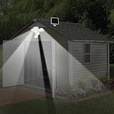 sunforce 82153 150 led triple head solar motion light 1000 lumen