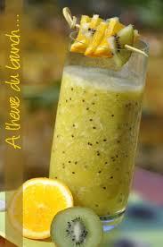 la cuisine de nathalie jus de fruit frais banane kiwi orange le de recettes