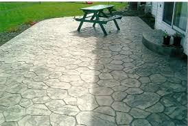 Backyard Stamped Concrete Patio Ideas Patio Decoration Concrete Patio Ideas For Small Backyards